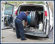 Vacuum Hose in Van